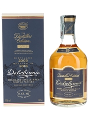 Dalwhinnie 2003 Distillers Edition Bottled 2018 70cl / 43%