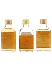 John Power & Paddy Bottled 1970s & 1980s 3 x 4.7cl-5cl / 40%