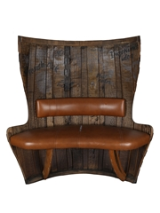 Glenfiddich Winter Storm Barrel Bench