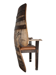 Glenfiddich Winter Storm Barrel Armchair  138cm x 98cm x 54cm