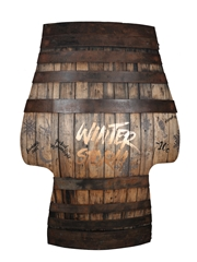 Glenfiddich Winter Storm Barrel Armchair  138cm x 98cm x 54cm