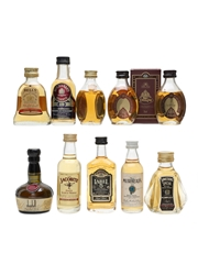 Assorted Blended Scotch Whisky  10 x 5cl / 40%