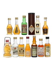 Assorted Whisky & Spririts  12 x 5cl / 40%