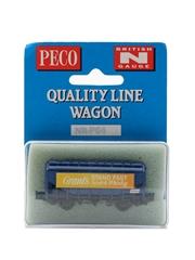 Grant's Stand Fast British N Gauge NR-P64 Wagon Peco Quality Line - Wonderful Wagons 6.5cm 2.5cm