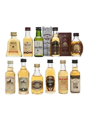 Assorted Blended Scotch Whisky  11 x 5cl / 40%