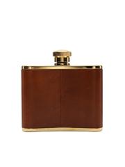 Cardhu Distillery Hip Flask Gold Plated 9.5cm x 9.5cm
