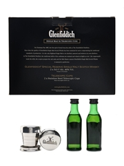 Glenfiddich Single Malt & Telescopic Cups Gift Pack 12 Year Old Special Reserve 2 x 5cl / 40%