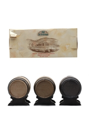 Old St Andrews Whisky Selection Miniature Barrels - 5, 10, 12 Year Old 3 x 5cl / 40%