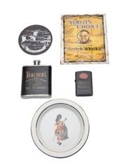 Assorted Blended Scotch Whisky Memorabilia