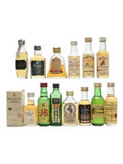 Assorted Blended Scotch Whisky  13 x 5cl