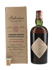 Ballantine's 17 Year Old Bottled 1950s - 21 Brands 75cl / 43%