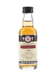Glengoyne 1997 Cask 582 Bottled 2009 - Malts Of Scotland 5cl / 57.2%