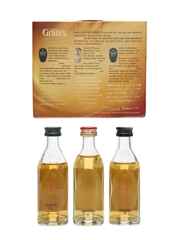 William Grant's Miniature Collection  3 x 5cl / 40%