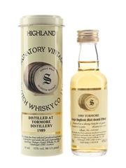 Tormore 1989 15 Year Old Bottled 2004 - Signatory Vintage 5cl / 43%
