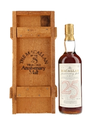 Macallan 1957 25 Year Old Anniversary Malt