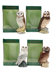 Whyte & Mackay Scottish Owls Decanters