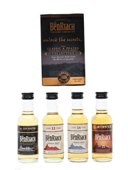 Benriach The Classic & Peated Collection  4 x 5cl