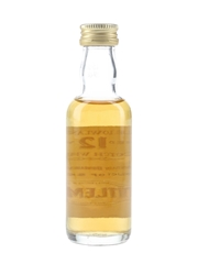 Littlemill 12 Year Old Bottled 1990s 5cl / 40%