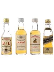 Bulloch Lade, Dewar, Famous Grouse & Johnnie Walker