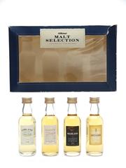 St Michael Malt Selection Highland, Lowland, Islay & Speyside 4 x 5cl / 40%