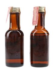 Hiram Walker Imperial Bottled 1970s 2 x 4.7cl / 40%