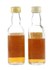 Tamdhu 8 & 10 Year Old Bottled 1970s 2 x 5cl / 40%