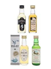 Assorted Islay Single Malt  4 x 5cl