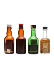 Assorted Blended Scotch Whisky Bottled 1970s 4 x 5cl