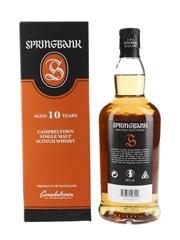 Springbank 10 Year Old Bottled 2019 70cl / 46%