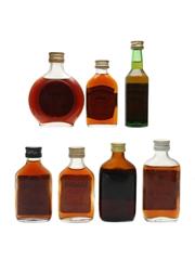 Assorted Demerara Rum Incl. Lamb's 70 Proof 7 x 5cl