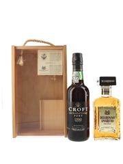 Disaronno Amaretto & Croft LBV Gift Set