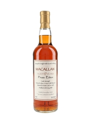 Macallan 1989 17 Year Old Private Edition