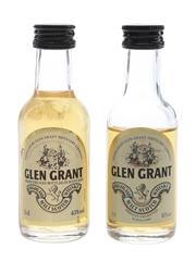 Glen Grant Bottled 1980s 2 x 5cl