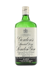 Gordon's Special Dry London Gin Bottled 1970s 75.7cl / 40%