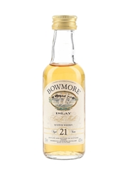 Bowmore 21 Year Old Bottled 1990s 5cl / 43%
