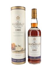 Macallan 1983 18 Year Old