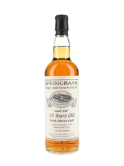 Springbank 1998 Cask #440 15 Year Old