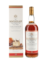 Macallan 10 Year Old Cask Strength
