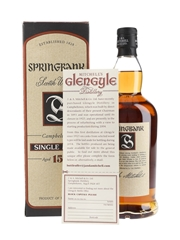 Springbank 15 Year Old  70cl / 46%