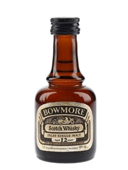 Bowmore 12 Year Old Bottled 1980s 5cl / 40%