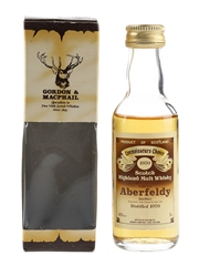 Aberfeldy 1970 Connoisseurs Choice Bottled 1980s - Gordon & MacPhail 5cl / 40%