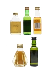 Assorted Blended Scotch Whisky Ben Roland, Catto's, Something Special, Asda Highland Malt, William Lawson 5 x 5cl
