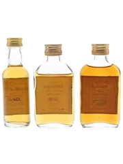 Pride Of Islay, Lowlands & Strathspey 12 Year Old Bottled 1990s 3 x 5cl