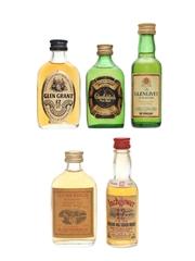 Assorted Single Malt Whisky Incl. Glenmorangie 5 x 5cl