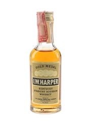 I W Harper 4 Year Old Gold Medal Bottled 1970s-1980s 5cl / 43%