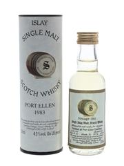 Port Ellen 1983 14 Year Old Bottled 1997 - Signatory Vintage 5cl / 43%