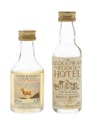 Burn Stewart & Ledgowan Lodge Hotel  2 x 5cl / 40%