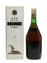 Hine 3 Star De Luxe Cognac Bottled 1990s 100cl