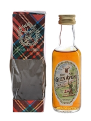 Glen Avon 25 Year Old Bottled 1980s 5cl / 40%