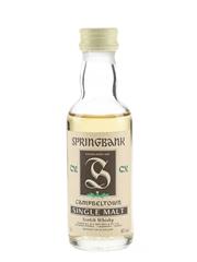 Springbank CV Bottled 1990s 5cl / 46%